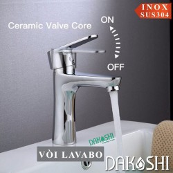 Vòi rửa lavabo Dakoshi